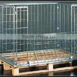 collapsible mesh cage, industrial mesh cage Image
