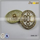 chinese knot metal jean/shir button