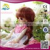 China factory 25cm synthetic doll hair