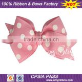 "Wholesale 3"" Pink Basic Boutique Hair Bows"