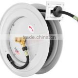 automatic retractable hose reel/reel works air hose reel/ self-retracting garden hose reel