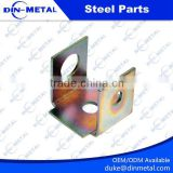 Electrical Zinc Plated Sheet Metal Stamping Parts metal punched Steel / Aluminum Bending Process