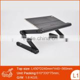 Adjustable Vented Laptop Table Lap Desk Portable Bed Tray Cooling Book Stand