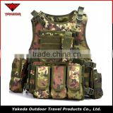 Top selling molle body protection tactical military combat gear wholesale custom airsoft outdoor bulletproof vest