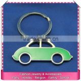 Custom 3d keychains models, hot sale car shaped keychain