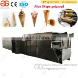Automatic Ice Cream Sugar Cone Machine Sugar Rolled Cone Baking Machine With CE Approved
