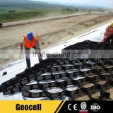 Plastic Stabilized Gravel Paving Gridding Geocell for Driveway Road