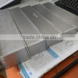 steel telescopic guideway cover