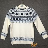 Boy's Jacquard style Raglan sleeves Knitting Sweater