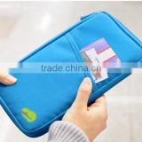 CY151 Travel Card Cash Document Organizer Wallet Rfid Blocking Passport Holder