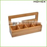 High Quality Classical Customize Make Wooden Bamboo Chinese Tea Gift Box/Homex_Factory