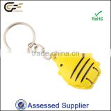Mouse plastic wholesale keyring with fingernail clippers
