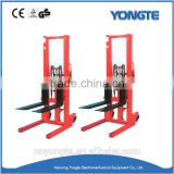 Best sale hydraulic manual stacker/ forklift for sale in dubai
