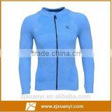 Fashion Men coat fitness wear quick dry training sport tights exercise jersey gym clothing with long sleeves
