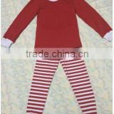 boutique girls outfits baby girl red stripe pants pjs wholesale clothing