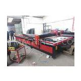 2000*6000mm working area 60 - 200A plasma cutting machine for Iron / Stainless steel / Steel tube