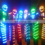 dancing robot costume LED robot costume for Nightclub