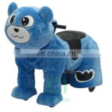 HI CE zoo animal scooter for adult and kids,funny teddy bear electric ride on toys in mall