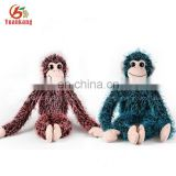 Wholesale Cheap China Toys Zoo Animals Custom Long Arms And Legs Monkey Plush Toy Plush Hanging Monkey
