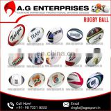 Custom Machine Stitched Standard Match Plain Rugby Ball