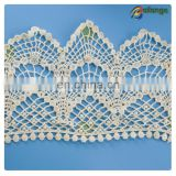 Colorful lace fabric for cloth Guangzhou fashion cotton full lace wig with baby hair