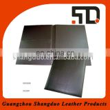 Online Shopping PU Leather Menu Holder for Restaurant Hotels