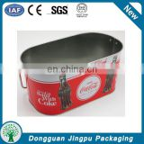 promotional personalized tin beverage ice bucket, beer metal ice bucket