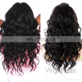 Virgin brazilian straight hair full lace wig human hair brazilian