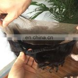 Customized Order Lace Frontal Natural Hairline 360 Lace Band Frontals Back With Elastic 360 Lace Band Frontal