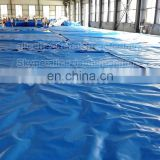 made to order football field covers pe tarpaulin