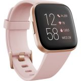 Fitbit Versa 2 Health & Fitness Smartwatch (Petal / Copper Rose Aluminum) Price 30usd