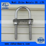 U SHAPE BOLT WITH WASHER AND NUT Marine Hardware, Rigging Hardware,
