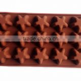 Lovely Choclolate Silicone Molds chocolate making mold Food grade silicone chocolate tool