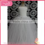 Little girls wedding dresses, long girls puffy dresses, summer evening dresses for young girls