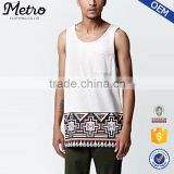 New Fashion Custom Mens Sublimation Tank Top