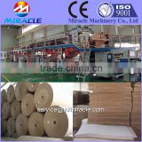 Corrugated fiberboard making machine, 3ply, 5ply, 7ply corrugated paperboard machines