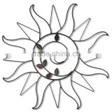 Metal Crafts Sun Shape Wall Home Decor