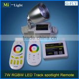 Wifi Remote Control Built-in Dimmers COB LED Track Spotlights for Galleries and Sculpture