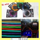 9 colors 2 meters electroluminescent el wire manufacturer wholesale factory price smart el wire
