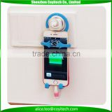 Worldwide hot indian souvenir with logo printing bendable smartphone holder stand