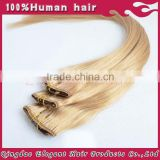 Popular Wholesale Price Virgin Remy Half Wig Clip In Hair Extension