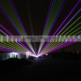 6W high power conversion white laser stage disco lighting