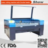 AZ-9060D High speed Laser cutting engraving machine with two heads for weeding cards