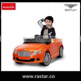 Rastar 2015 hot sell Electric cars licensed ride on car 12v car toys with remote control