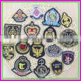 Fashion Decoration Iron-on Or Sew-on Cheap OEM ODM Textile Embroidery Army Woven Patches