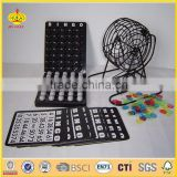 bingo game set bingo toy Toys quick pick bingo from Chinese manufactory