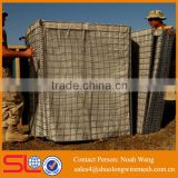 Factory Supply stone filled aqua hesco bastion barriers