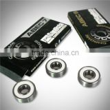 ABEC 9 longboard bearing, high quality bearing, Rubber shield with logo bearing