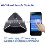 wifi to ir remote control with smartphone for TV/set-top box/speaker/air conditioning home appliance