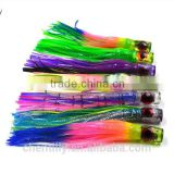 factory direct sell Resin head and pvc skirtTrolling Lures Big Game Lures Fishing Tackle